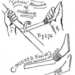 How to use a Crooked Knive