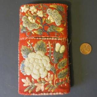 Moose Hair Embroidered Cheroot/Cigar Case