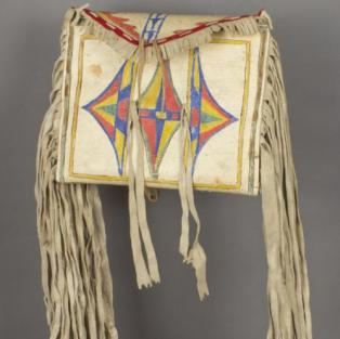 Nez Perce Parfleche bag C/1870