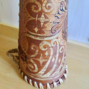 """""""Where"""" Moose Call  -left side showing traditional designs"""
