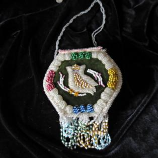 Iroquois Owl Purse