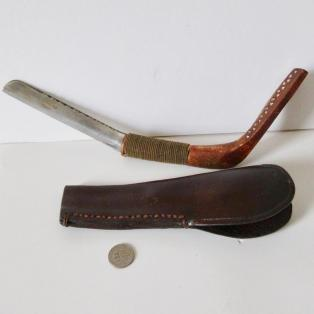 Crooked Knife, with sheath