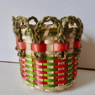 Small Loop Top Basket - other side