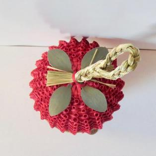 Strawberry Basket: Large - Top