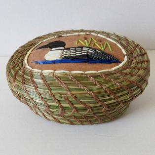 Loon Basket - side