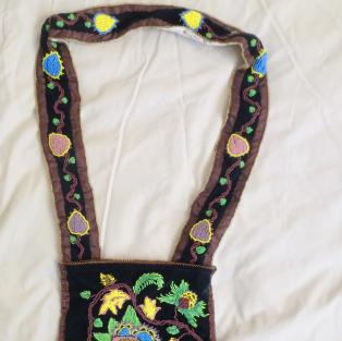 Bandolier Bag, Cree/Ojibwe Style - entire bag