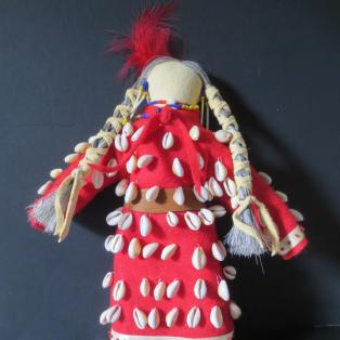 Crow Woman Elder Doll