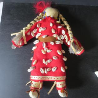 Crow Woman Elder Doll - Entire