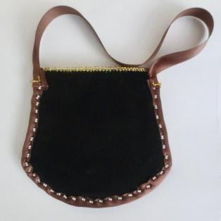 Iroquois Beaded Goose Bag - back