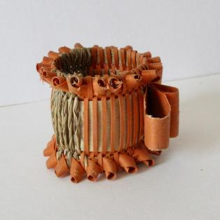 Victorian Napkin Ring, side